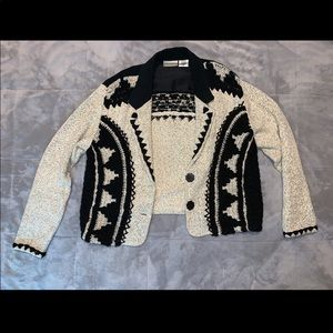 Woman's knitted coat